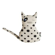 Cats are cool, this one's very cool because he's called Zorro. These children's cushions are beautiful Scandinavian design by OYOY, also available are Danish Interior Design, Scandinavian Design, Baby Pillows, Throw Pillows, Kids Pillows, Accent Pillows, Black And White Cushions, Black White, Color Black