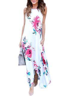 Dresses Hot Sale Women Summer Boho Long Maxi Dress Sexy Ladies Sling Evening Party Beach Holiday Dresses Loose Sundress Vestito Da Donna Convenience Goods