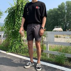 Stylish Mens Outfits, Cool Outfits, Summer Outfits, Casual Outfits, Fashion Outfits, Simple Outfits, Mode Streetwear, Streetwear Fashion, Mode Man