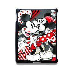 Mickey Mouse Kissing by Minnie Mouse Disney Apple Phonecase For Ipad 2 Ipad 3 Ipad 4 Ipad Mini 2 Ipad Mini 3 Ipad Mini 4 Ipad Air 2 Ipad Air