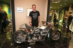 Charlie Stockwell of Warr's of Harley Davidson discusses the bikes, his career at Warr's and those rare occasions when he isn't in the workshop. Harley Davidson, Interview, Bike, Luxury, Design, Bicycle, Bicycles