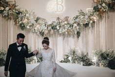 Wedding Stage Backdrop, Wedding Backdrop Design, Simple Wedding Decorations, Backdrop Decorations, Simple Weddings, Wedding Centerpieces, Backdrop Ideas, Wedding Photo Walls, Wedding Photo Booth