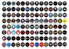 Online shopping for Emblems - Exterior Accessories from a great selection at Automotive Store. Luxury Car Logos, Luxury Car Brands, Top Luxury Cars, Luxury Logo, Car Logos With Names, All Car Logos, Car Brands Logos, High End Car Brands, High End Cars