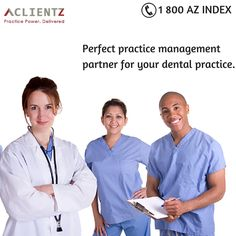 Perfect practice management  partner for your dental practice.