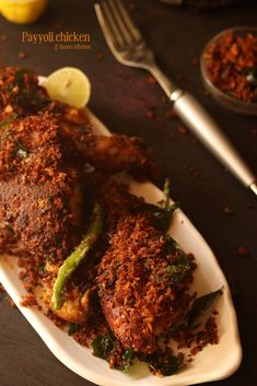 Indian Chicken Fry Recipe, South Indian Chicken Recipes, South Indian Breakfast Recipes, Fried Chicken Recipes, Indian Food Recipes, Crispy Chicken, Veg Recipes, Curry Recipes, Vegetarian Recipes