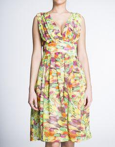 Ik kies ervoor om te naaien: Patroon: V-hals jurk met multifunctionele (zomer, winter, feest, werk ...)