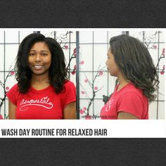 I detailed my #washday in today's #blogpost. Link in bio. My wash day #regimen includes techniques useful for #relaxedhair and #naturalhair_.  Check it out and let me know what you think! #healthyhair #relaxedthairapy