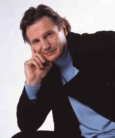 Liam Neeson-I don't know what it is about him but he really does it for me.