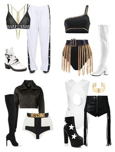 """""""Inspired performing outfits"""" by mixerfromsweden ❤ liked on Polyvore featuring Puma, Adoriana, M&Co, Versace, Ikonostas, Balenciaga, Givenchy, Balmain, Diesel and Public Desire"""