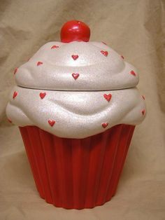 Reserved Listing for Calibabe559 Sandra by whitedovecrafts on Etsy, $40.50  Cupcake decor to adore.  Make your kitchen & that special someone happy with cupcakes that will never go bad.