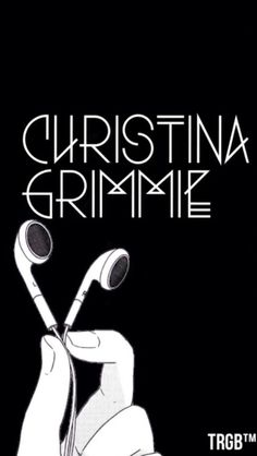 Free Christina Grimmie Headphones LockscreenPlease like & reblog if you're saving :)