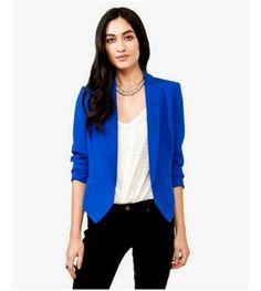 Blue women blazer