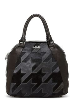 baf5fed1b256 L.A.M.B. Tolman Bowler Handbag in black Gwen Stefani