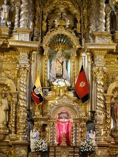 ECUADOR            QUITO - Iglesia de Guápulo #Quito