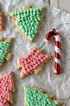 Christmas Tree Cookies @Chung-Ah Rhee
