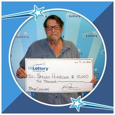 """Steven Hitchcock of #Davenport claimed a $10,000 prize he won playing the """"$100,000 Mega Crossword"""" scratch ticket. Congrats! #WooHooForYou Steven purchased his ticket at Kwik Shop, 1732 N. Marquette St. in Davenport. Lottery Website, Tabs Game, Lottery Drawing, Thousand Dollars, Winning Numbers, Trust Fund, Lottery Tickets, All Names, Cedar Rapids"""