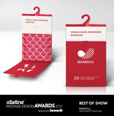 The Dieline Package Design Awards 2013: Best of Show - BANDiful  - The Dieline -