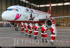 Roll out of flying home for Christmas 2015 colors in cooperation with Lindt. D-ABNM. Airbus A320-214. JetPhotos.com is the biggest database of aviation photographs with over 3 million screened photos online!
