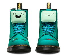 Adventure Time 617696905112424170 - bota hora de aventura dr martens 04 Source by Doc Martens Boots, Red Doc Martens, Cute Shoes, Me Too Shoes, Ankle Booties, Bootie Boots, Multi Coloured Boots, Shoe Company, Designer Boots