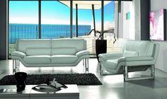 Stylish Design Furniture - Divani Casa New York - Modern White Leather Sofa Set, $2,300.00 (http://www.stylishdesignfurniture.com/products/divani-casa-new-york-modern-white-leather-sofa-set.html/)