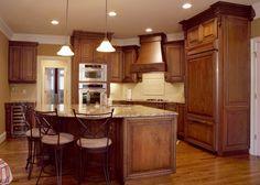 Traditional Kitchen Styles | kitchen designer, Traditional style kitchen design, Cherry kitchen ...