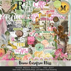 Mixed Media Monthly May 17