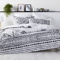 Spotlight stocks a huge range of quilt covers and quilt cover sets for king, queen, and single size beds! Transform the look of your bedroom today. Bed Linen, Linen Bedding, Home Bedroom, Bedroom Decor, Single Size Bed, Quilt Cover Sets, Duvet Covers, Comforters, Queen