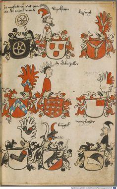 Wappen besonders von deutschen Geschlechtern Süddeutschland ?, 1475 - 1560 Cod.icon. 309  Folio 37r