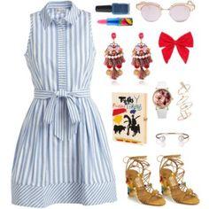 Outfit #14 - Artsy Fun Brunch Look