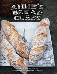 Now you can make fancy bread too! Anne Boulley's artisan bread book online... free!