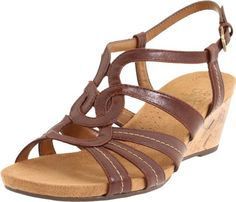 Amazon.com: LifeStride Women's Nomad Wedge Sandal: Shoes $37