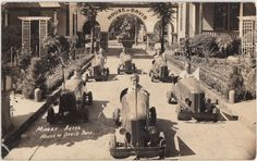 RARE 1940s House of David Benton Harbor Michigan Mich RPPC Postcard Midget Autos   eBay