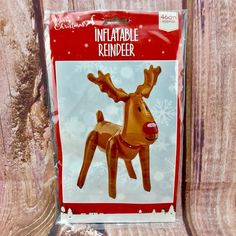 Christmas Inflatable blow up Reindeer Decorations party xmas novelty figure toy Reindeer Decorations, Christmas Decorations, Christmas Inflatables, Christmas Items, Merry, Xmas, Toy, Weihnachten, Toys