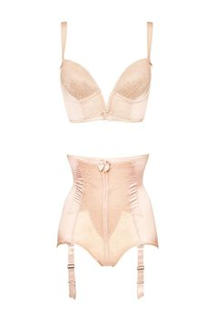 Gossard Retrolution Staylo Bra Set in Blush #VintageLuxe #AW14Lingerie #figleaves
