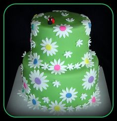 Little Girl Cake- 1st Birthday... by It's All About the Cake, via Flickr