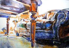 "Saatchi Art Artist Gregory Radionov; Painting, ""what?"" #art"