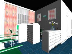 DECORACIÓN: Proyecto Puestos de Trabajo Espacio 1000 Usos - Infografia 3D Max