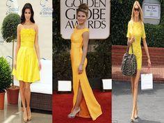 Look madrinha: vestidos amarelos + acessórios Constance