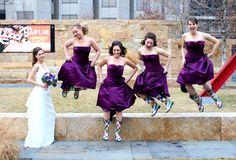 jumpin' bridesmaids