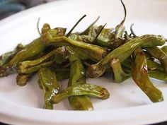 This pepper called the Shishito, is spicy... Well only 1 out of 10 are spicy and there's no way of knowing whether your's is spicy. Like pepper roulette.