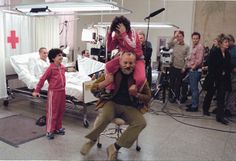 Behind-the-Scenes Shots From Royal Tenenbaums -- Vulture