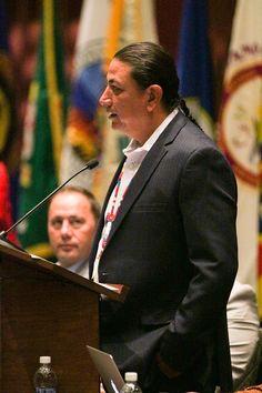 Chairman Archambault. Photo credit Scott Brings Plenty/Cherokee One Feather.