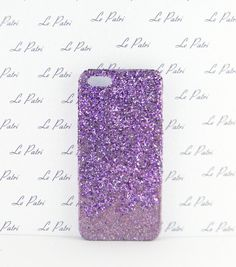 Purple Ombre Glitter Bling Phone Case Phone Cover Made by LePatri
