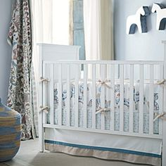 Leo Crib Bedding Collection for Baby Boy Nursery | Serena & Lily