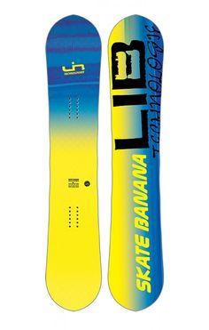 Lib-Tech Skate Banana Yellow 156 BTX 17/18 Lib Tech, Skate, 18th, Banana, Yellow, Bananas, Fanny Pack