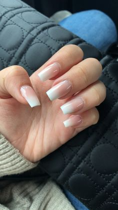 39 Ideas for nails french manicure ombre French Manicure Acrylic Nails, Acrylic Nail Designs, French Nails, Nail Manicure, French Toes, French Acrylics, French Manicures, Cute Nails, Pretty Nails