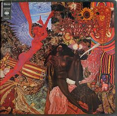 "Santana-Abraxas :""The album cover features the 1961 painting Annunciation, by Mati Klarwein."""