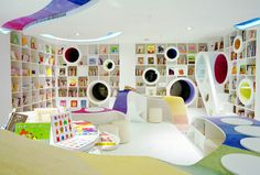 The Poplar Kid's Republic bookstore in Beijing – as seen in LMNOP Magazine, Issue 11. Image courtesy of SAKO Architects.