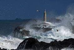 Faro de Isla de Mouro