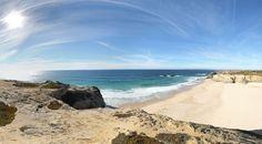 360º Virtual Visit to Praia Grande de Porto Covo, Portugal - via www.visitasvirtuais.com